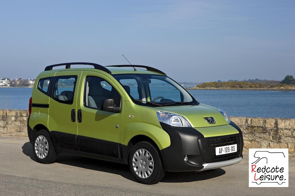 Peugeot Bipper Tepee camper conversions