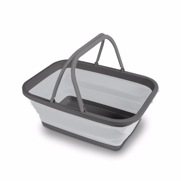 Kampa Medium Collapsible Washing Bowl - Grey