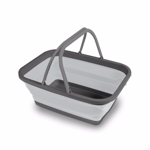 Kampa Medium Collapsible Washing Bowl - Grey