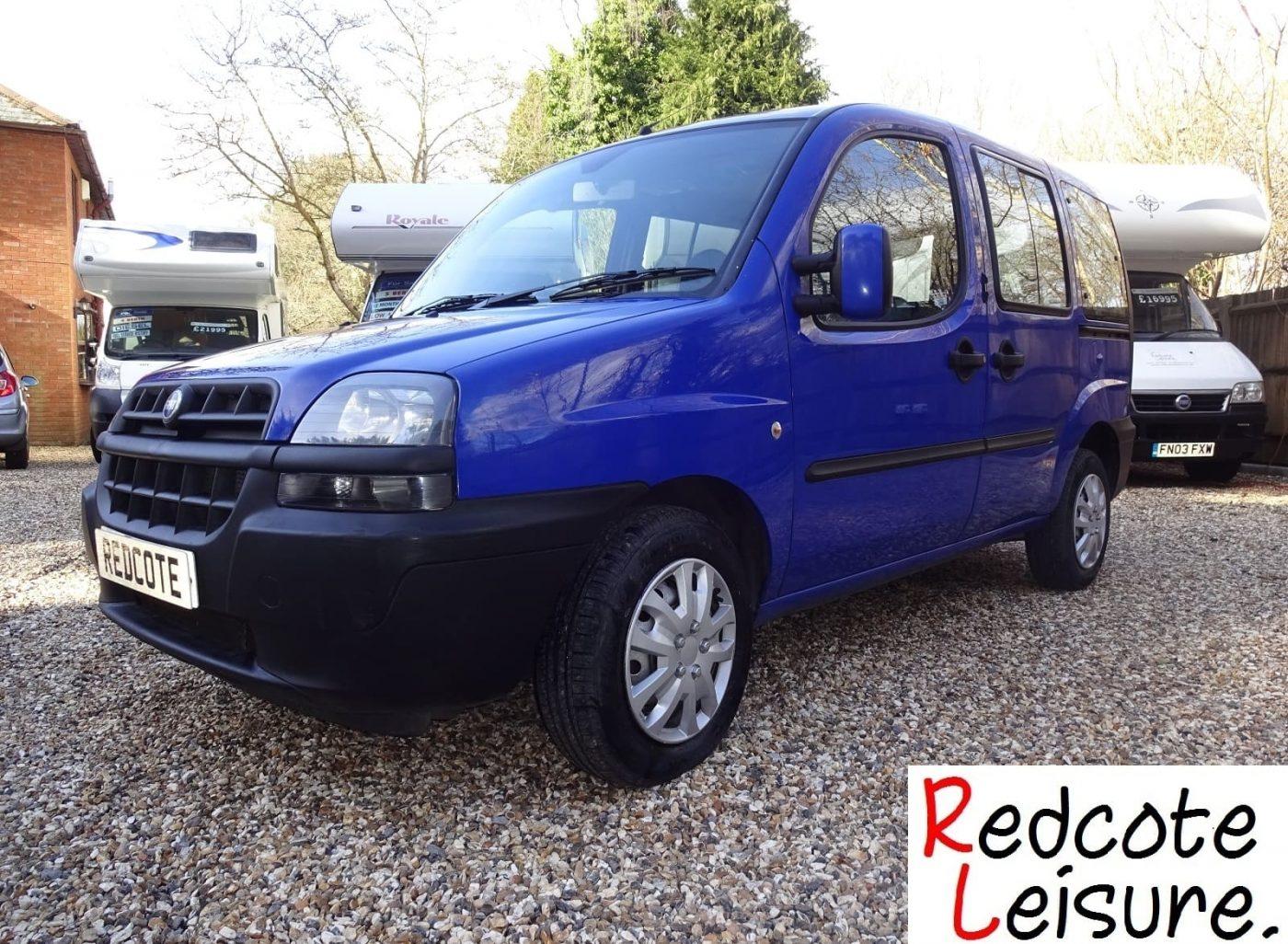 2004 Fiat Doblo JTD SX Micro Camper -1