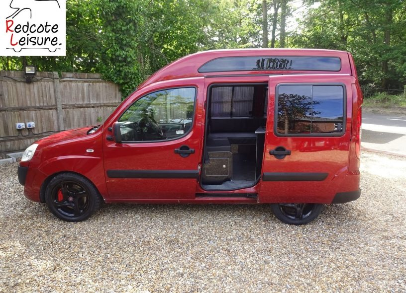 2007 Fiat Doblo Dynamic High-top Micro Camper -1