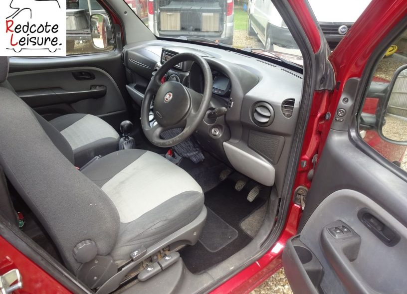 2007 Fiat Doblo Dynamic High-top Micro Camper -17