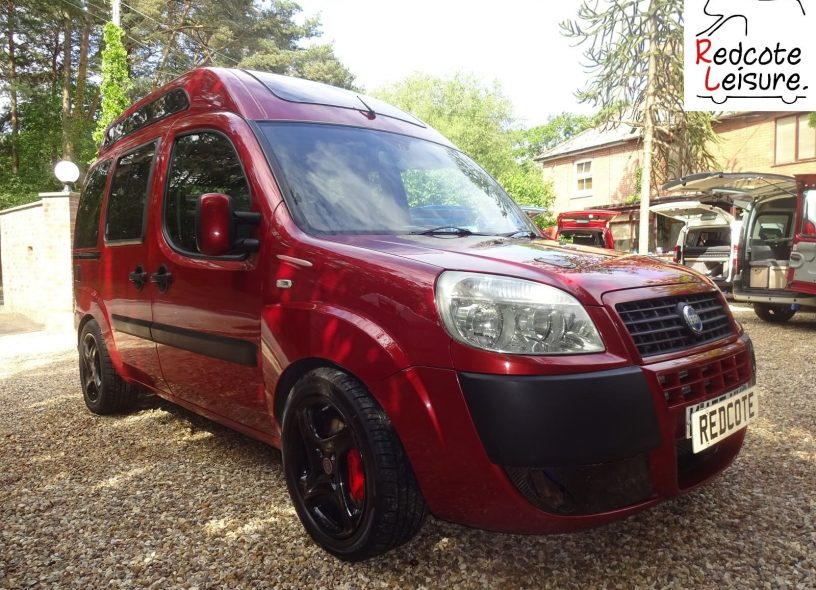 2007 Fiat Doblo Dynamic High-top Micro Camper -2