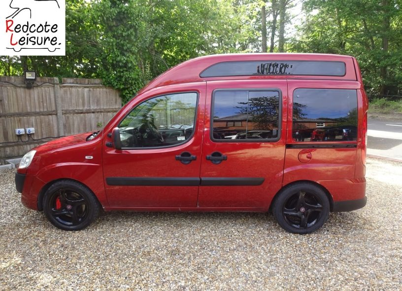 2007 Fiat Doblo Dynamic High-top Micro Camper -3