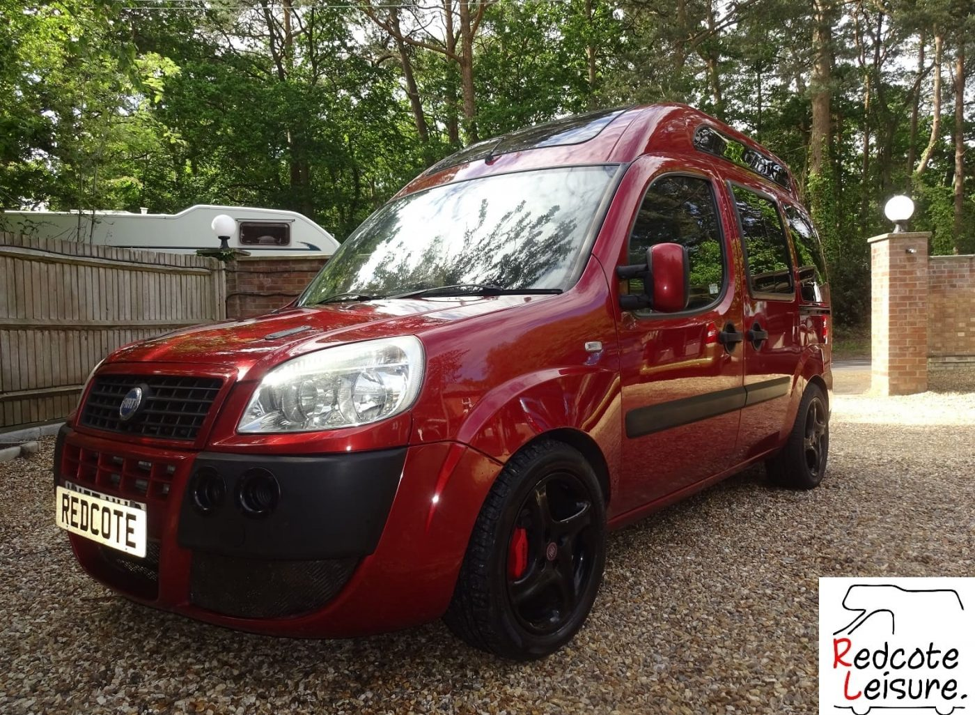 2007 Fiat Doblo Dynamic High-top Micro Camper -5