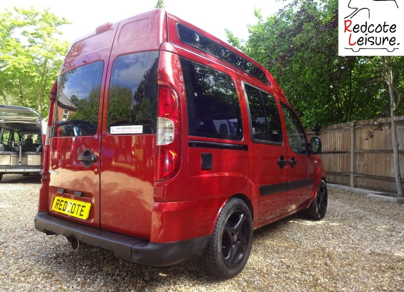 2007 Fiat Doblo Dynamic High-top Micro Camper -7