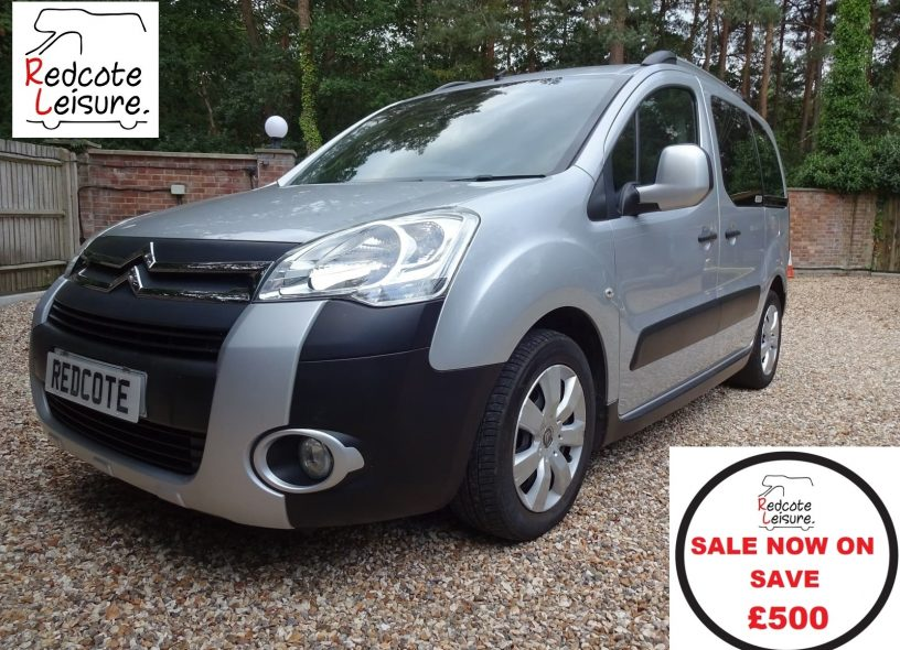 2010 Citroen Berlingo Multispace XTR 110 HDI Micro camper SALE