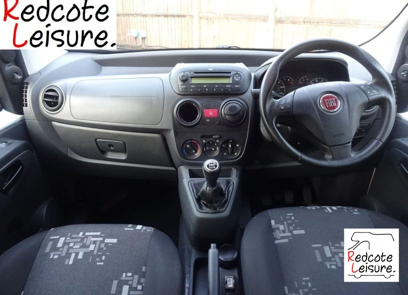 2010 Fiat Qubo Active Micro Camper -11