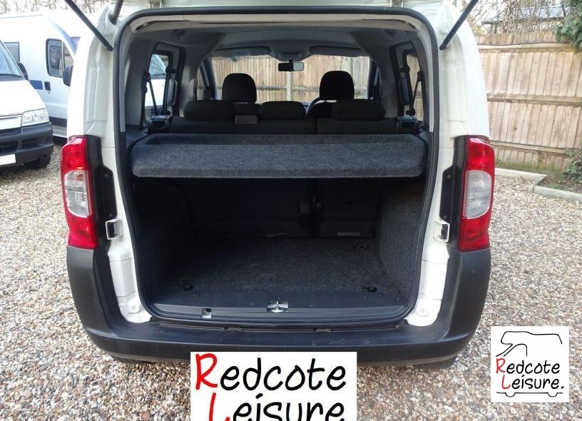 2010 Fiat Qubo Active Micro Camper -13