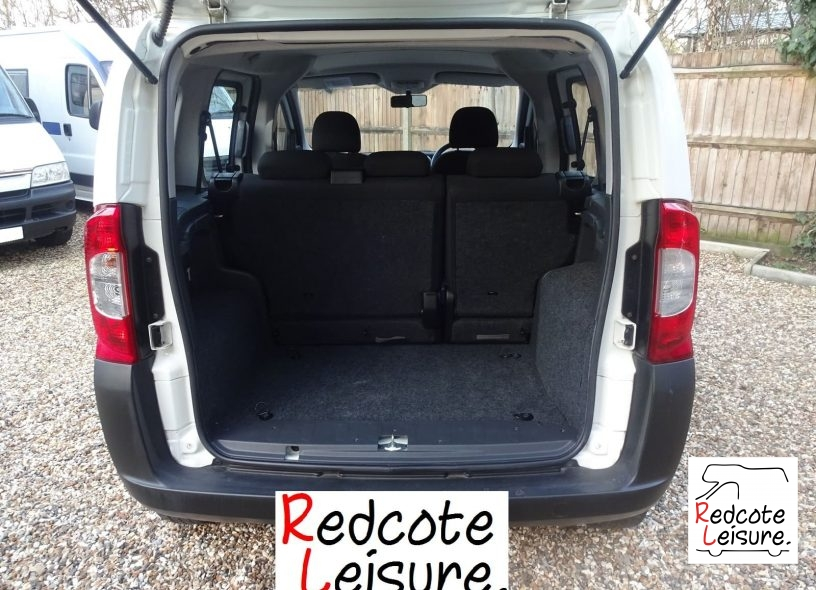 2010 Fiat Qubo Active Micro Camper -14