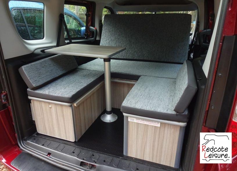 2011 Fiat Doblo Active Micro Camper Interior