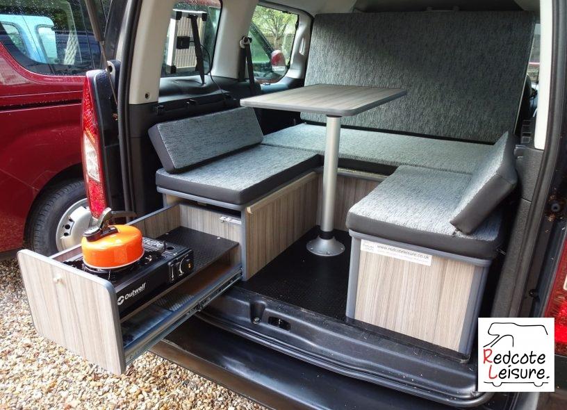 2012 Citroen Berlingo Multispace 1.6 e-HDi Airdream XTR EGS6 Micro camper Interior (15)