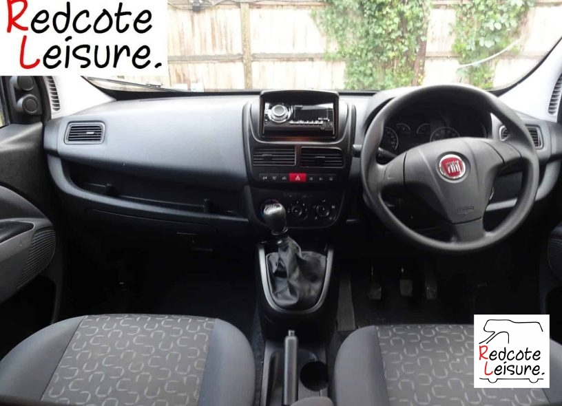 2012 Fiat Doblo Mylife Micro Camper -16