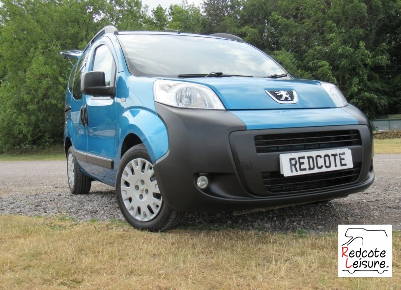 2011 Peugeot Bipper Tepee outdoor HDI Micro Camper (5)