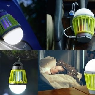 rechargable bug killer lantern 7