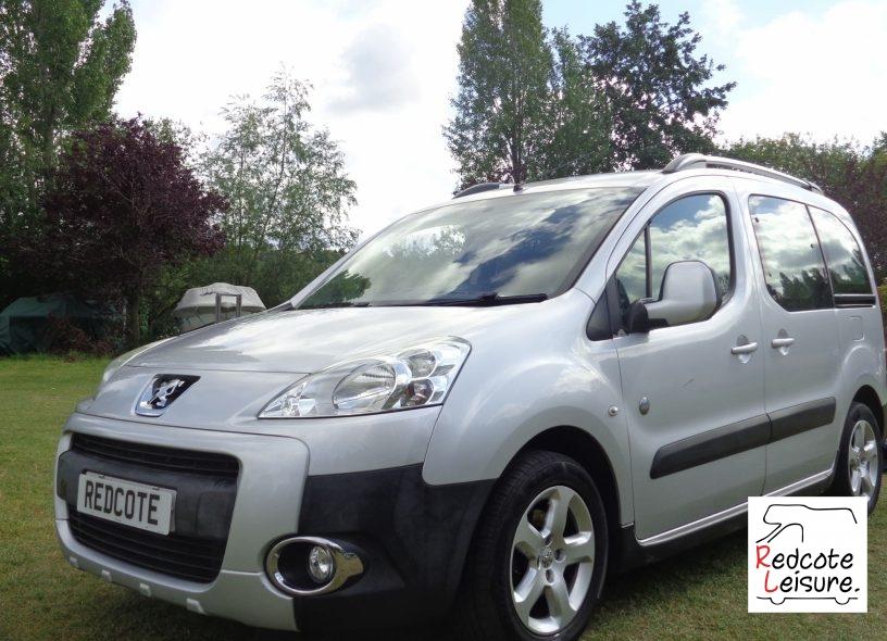 2011 Peugeot Partner Tepee Outdoor Micro Camper (2)