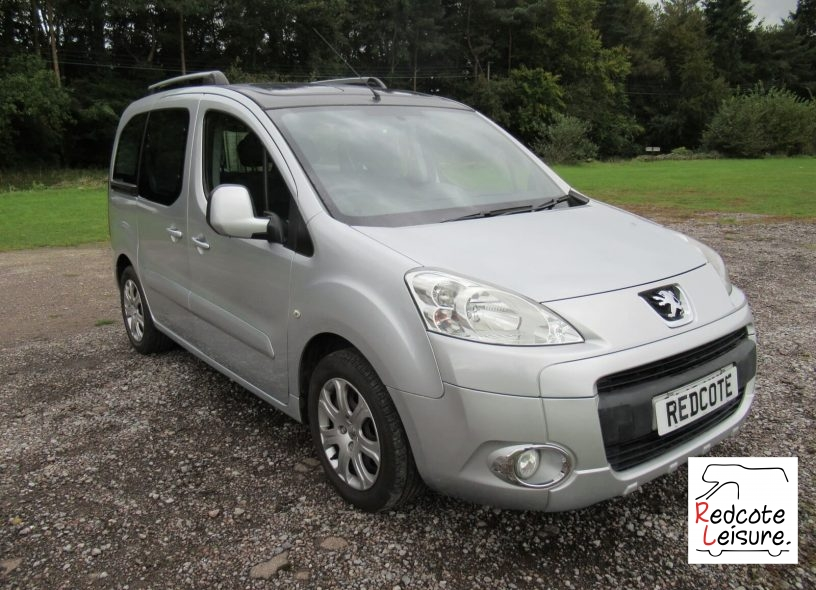 2010 Peugeot Partner Tepee Micro Camper (2)