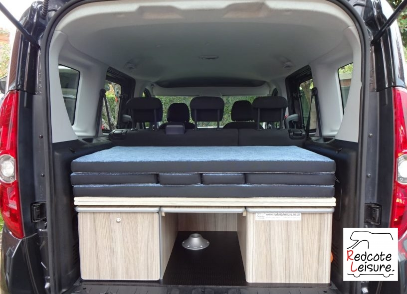 2011 Fiat Doblo Dynamic Micro Camper Inside (1)