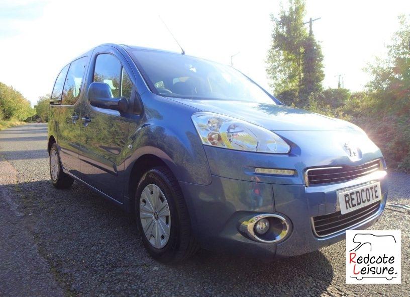 2012 Peugeot Partner Tepee Micro Camper (2)