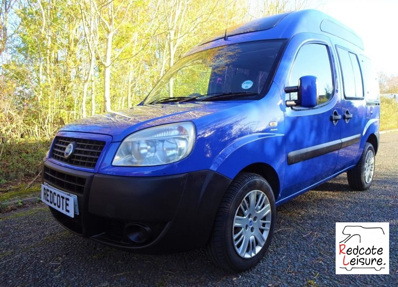 2006 Fiat Doblo Active High Roof Micro Camper (1)