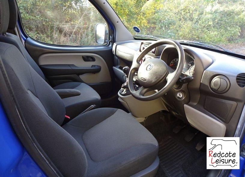 2006 Fiat Doblo Active High Roof Micro Camper (12)