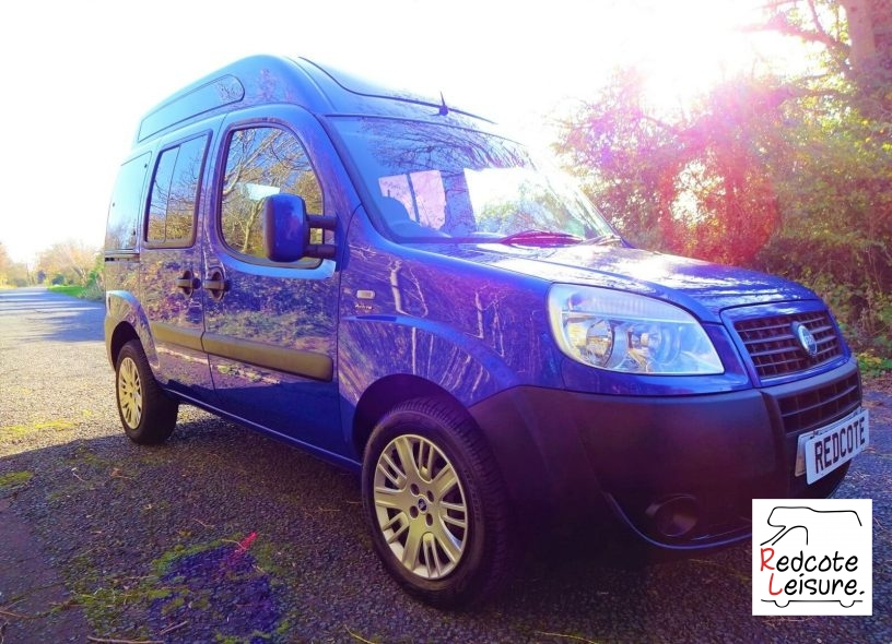2006 Fiat Doblo Active High Roof Micro Camper (16)
