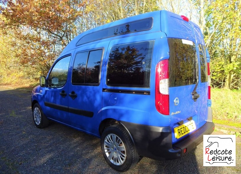 2006 Fiat Doblo Active High Roof Micro Camper (3)