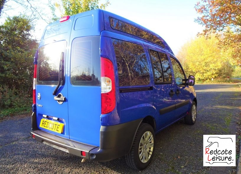 2006 Fiat Doblo Active High Roof Micro Camper (4)