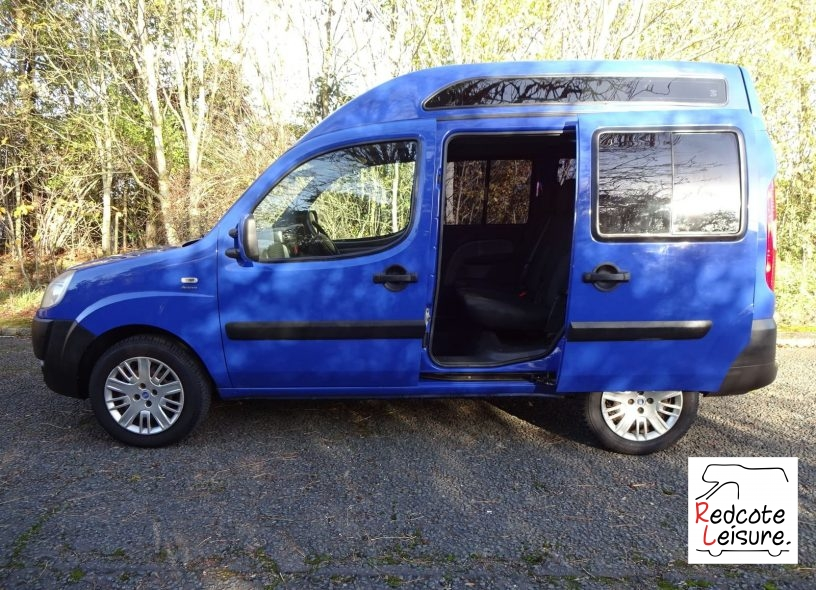 2006 Fiat Doblo Active High Roof Micro Camper (6)