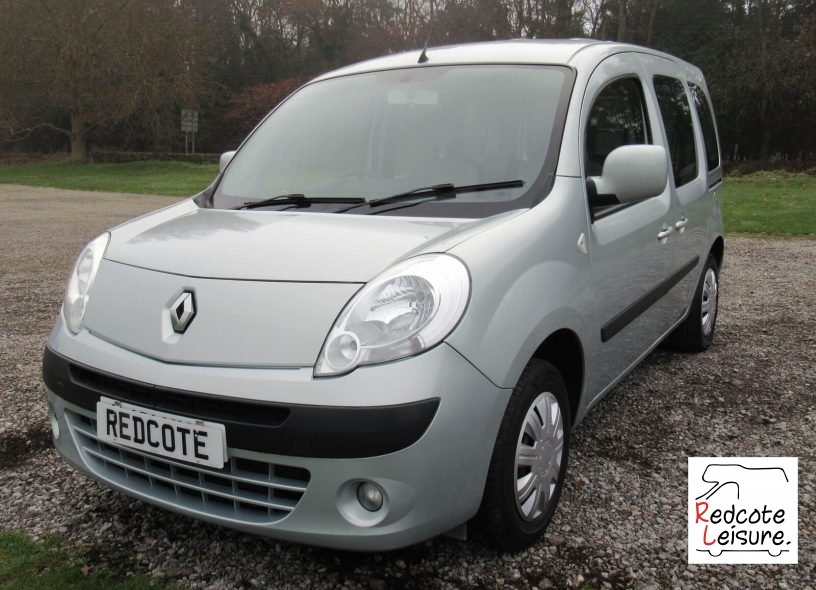 2012 Renault Kangoo Expression Automatic Micro Camper (1)