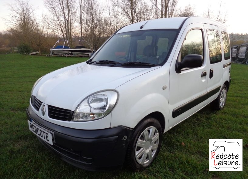 2006 Renault Kangoo AUTHENTIQUE DCI Micro Camper (1)
