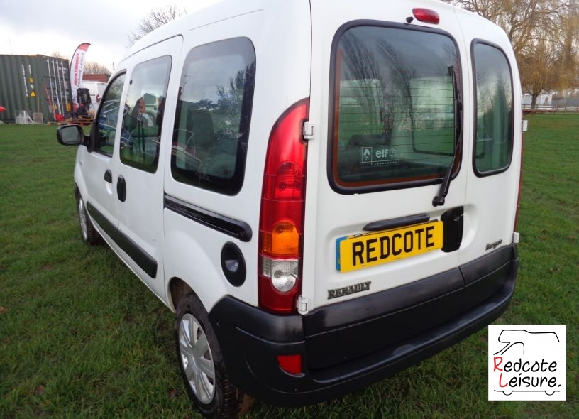 2006 Renault Kangoo AUTHENTIQUE DCI Micro Camper (5)