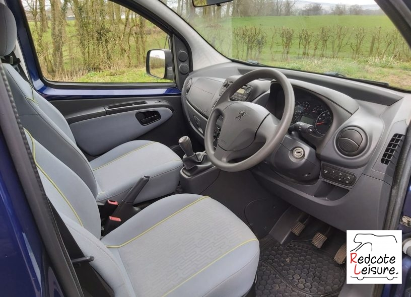 2009 Peugeot Bipper Tepee Outdoor Micro Camper (5)