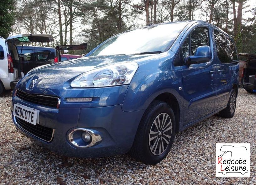 2014 Peugeot Partner Tepee WAV Micro Camper (1)