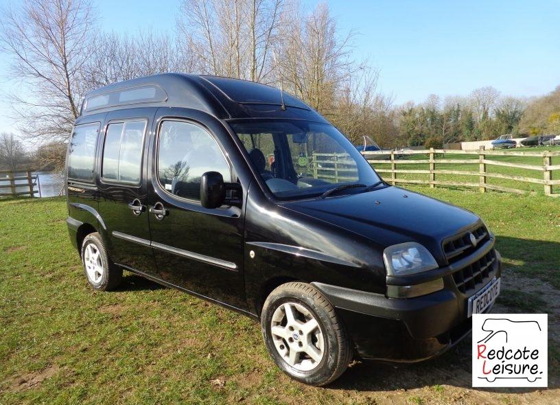 2003 Fiat Doblo JTD ELX High Top Micro Camper (12)