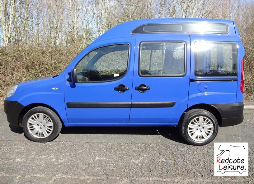 2006 Fiat Doblo Active Micro Camper (5)
