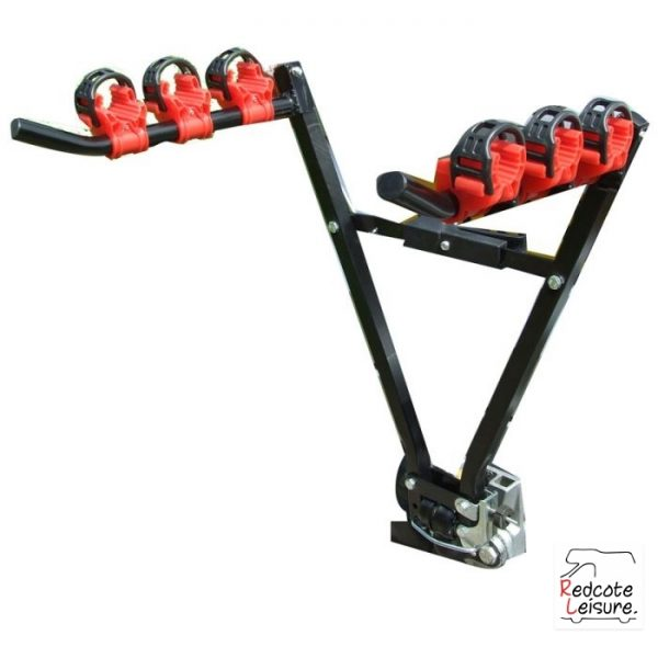 Triple Cycle Carrier Tow Ball fitting 3 Bikes