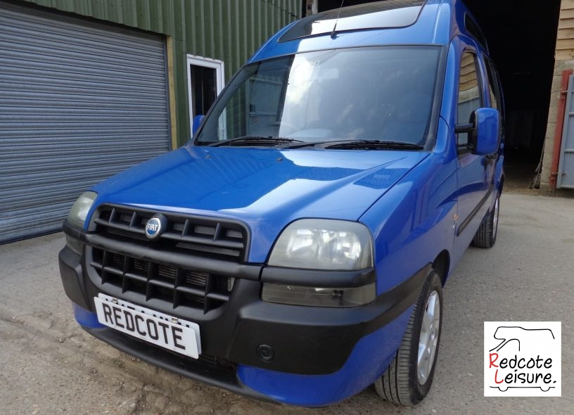 2005 Fiat Doblo JTD High Top Micro Camper (1)