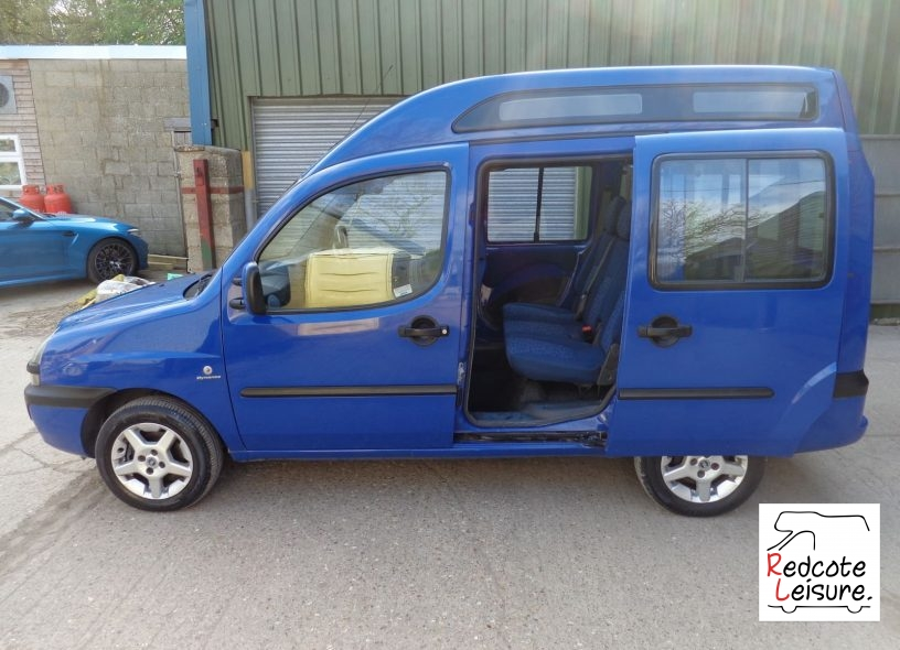 2005 Fiat Doblo JTD High Top Micro Camper (11)