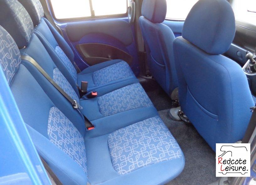 2005 Fiat Doblo JTD High Top Micro Camper (13)