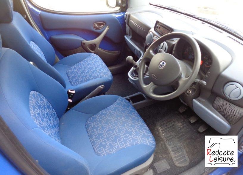 2005 Fiat Doblo JTD High Top Micro Camper (14)