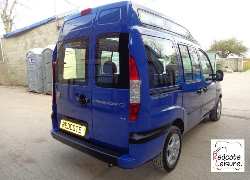 2005 Fiat Doblo JTD High Top Micro Camper (4)