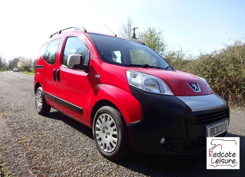 2012 Peugeot Bipper Tepee Outdoor HDI S-A Micro Camper (16)