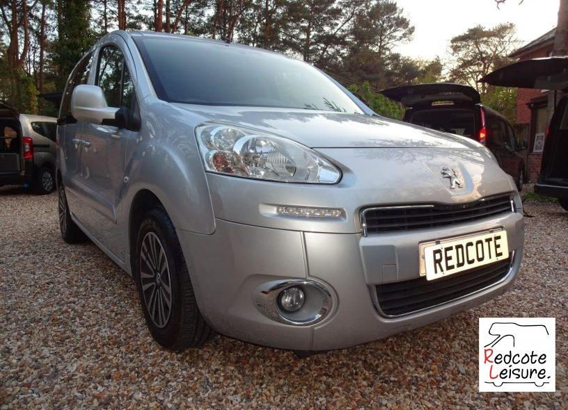 2012 Peugeot Partner Tepee S Micro Camper WAV (1)
