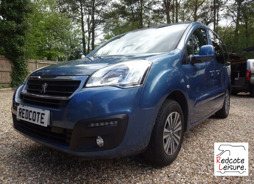 2016 Peugeot Partner Tepee Active Blue HDI Micro Camper (1)