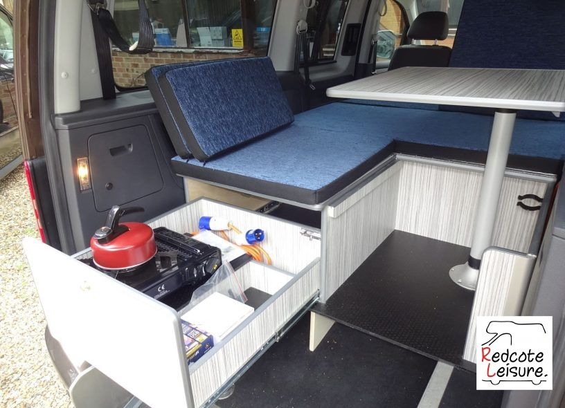 2012 Volkswagen Caddy Maxi Life Micro Camper Wheelchair Access Vehicle (WAV) (30)