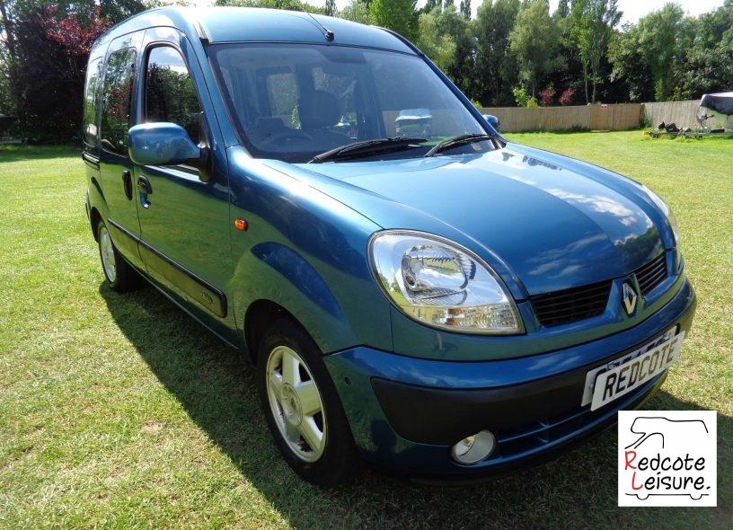 2004 Renault Kangoo Expression Micro Camper (1)