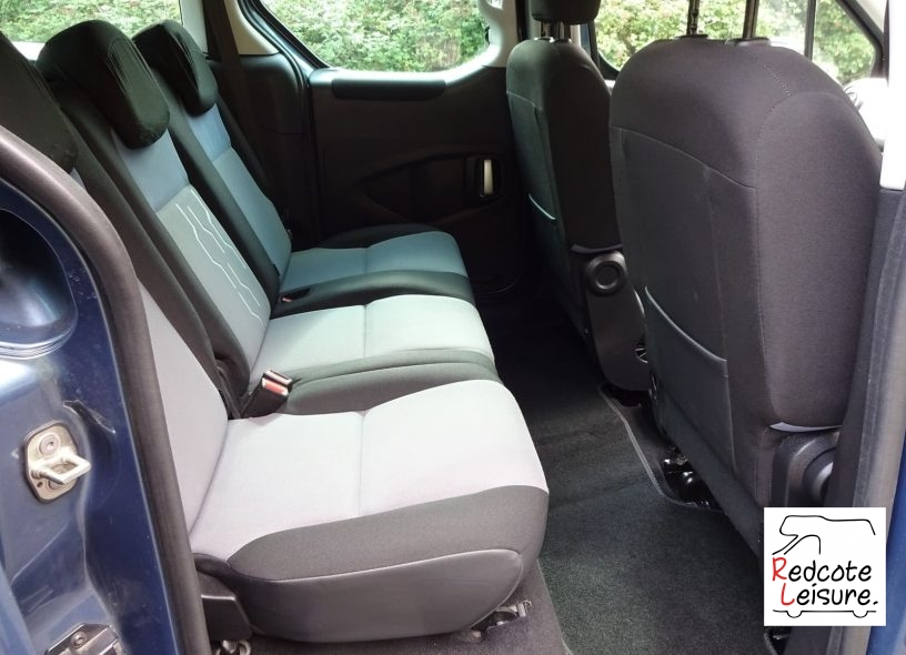 2016 Peugeot Partner Tepee Active Blue HDI Micro Camper (12)