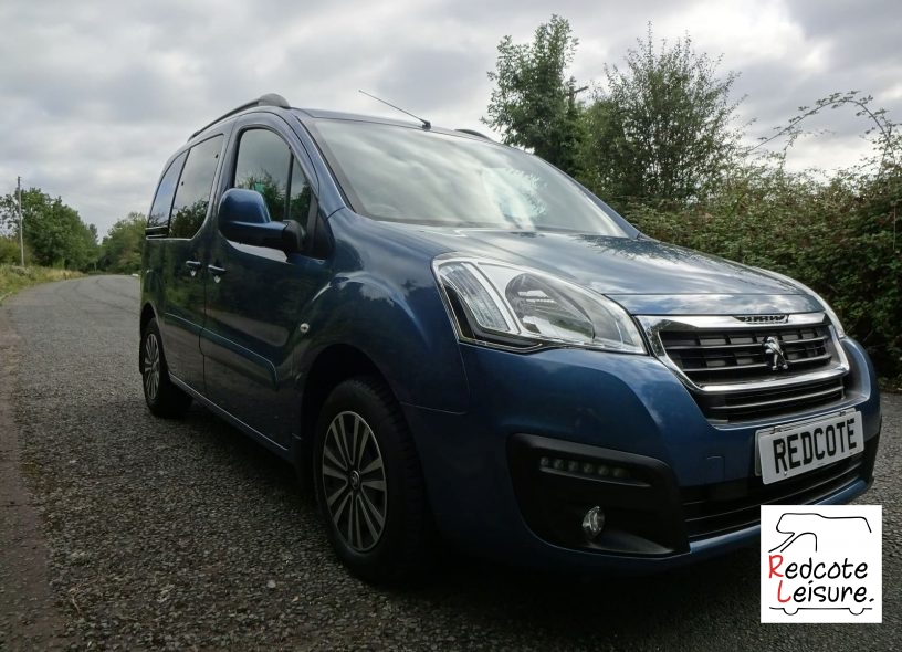 2016 Peugeot Partner Tepee Active Blue HDI Micro Camper (15)