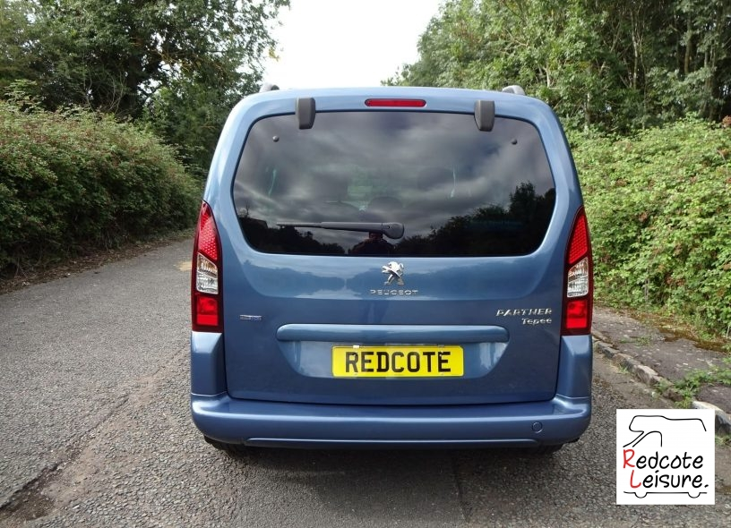 2016 Peugeot Partner Tepee Active Blue HDI Micro Camper (2)